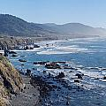 Northern California Coast Print by Twenty Two North Photography