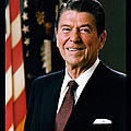 President Ronald Reagan by Official White House Photograph