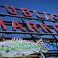 Seattle Market Sign by Brian Jannsen