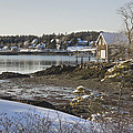 South Bristol On The Coast Of Maine by Keith Webber Jr