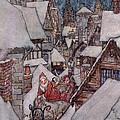 'the Night Before Christmas by Arthur Rackham