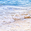 Waves Breaking On Tropical Shore by Elena Elisseeva