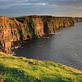 Cliffs Of Moher Sunset Ireland by Pierre Leclerc Photography