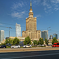 Palace Of Culture And Science In Warsaw by Artur Bogacki