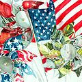 4th of July Print by Elizabeth  McRorie