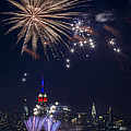 4th Of July Fireworks by Eduard Moldoveanu
