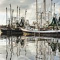 Bayou Labatre' Al Shrimp Boat Reflections by Jay Blackburn