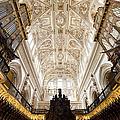 Mezquita Cathedral Interior In Cordoba by Artur Bogacki