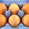 Organic Eggs by George Atsametakis