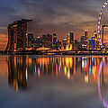Singapore City by Anek Suwannaphoom