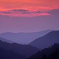 Smoky Mountain Sunset by Andrew Soundarajan