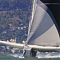 San Francisco Sailing by Steven Lapkin
