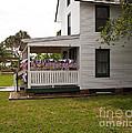 Ryckman House in Melbourne Beach Florida Print by Allan  Hughes