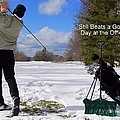 A Bad Day On The Golf Course by Frozen in Time Fine Art Photography