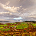 A Chambers Bay Morning Print by Ken Stanback