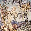 A Fairy Song From A Midsummer Nights Dream by Arthur Rackham