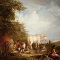 A Gypsy Scene by Edward Robert Smythe