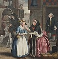 A Harlots Progress, Plate I by William Hogarth