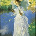 A Morning Walk by John Singer Sargent