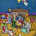 A Nativity Scene by Sarah Batalka