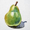 A Pear by Irina Sztukowski