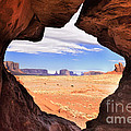 A Peek Into Monument Valley by Sandra Bronstein