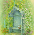 A Seat In The Garden by Garry Walton