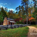 A Smoky Mountain Cabin by Mel Steinhauer
