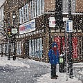 A Snowy Day On Wellington by Reb Frost