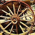 A Wagon Wheel by Jeff Swan