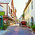 A Walk In St Augustine by Michelle Wiarda
