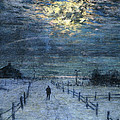 A Wintry Walk by Lowell Birge Harrison