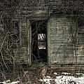 Abandoned House - Enter House On The Hill by Gary Heller