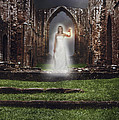 Abbey Ghost Print by Amanda And Christopher Elwell