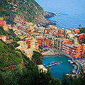 Above Vernazza Print by Inge Johnsson