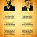 Abraham Lincoln And John F Kennedy Presidential Similarities And Coincidences Conspiracy Theory Fun by Design Turnpike