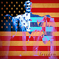 Abraham Lincoln - Freedom Print by Wingsdomain Art and Photography