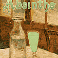 Absinthe Art Nouveau Advertisement Print by