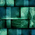 abstract art Blue Dream Print by Ann Powell