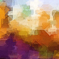 Abstract Cityscape Cubic by Lutz Baar