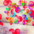 Abstract Floral  by Mark Ashkenazi