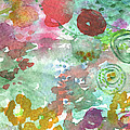 Abstract Garden by Linda Woods