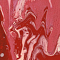 Abstract - Nail Polish - Tongue Print by Mike Savad
