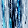 Abstract Waterfall T...