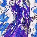 Aceo Joker V by Rachel Scott