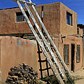 Acoma Pueblo Adobe Homes 3 by Mike McGlothlen