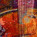 Acoustic Dreams Digital Guitar Art By Steven Langston by Steven Lebron Langston