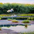 Across Duck Creek by Karol Wyckoff