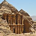 Ad Deir In Petra by Jelena Jovanovic
