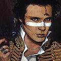 Adam Ant by Jane Whiting Chrzanoska